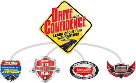 Drive with Confidence Logo | Chelsea Tire Pros